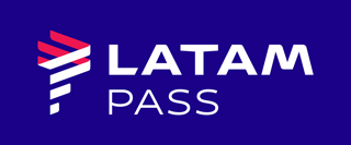 Latam pass blue bg